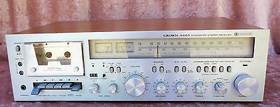 Crown 4465 - FM/AM HiFi Cassette Stereo Receiver
