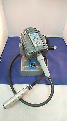Foredom TXM 110/120 VOLTS 15,000 rpm 5 AMP WITH FLEX SHAFT BENCH TOP CLEAN