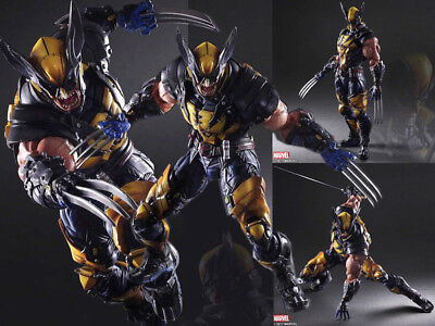 Marvel Play Arts Kai Wolverine Square Enix Variant Action Figur Figuren Statue