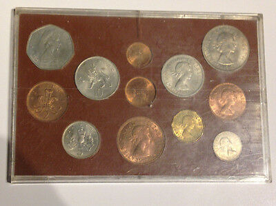 1967 Great Britain Farewell to the £sd System Pre-Decimal  Money 12 Coin  Set