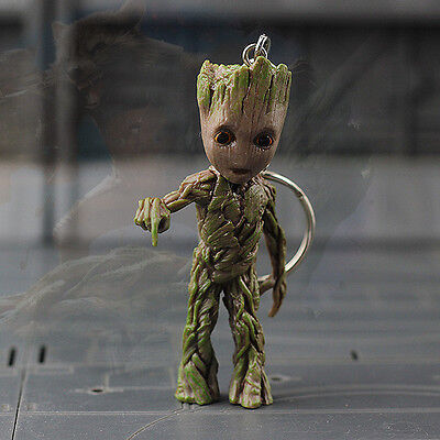 Push Bomb Button Baby Groot Guardians of the Galaxy vol.2 Key Ring Figur Figuren