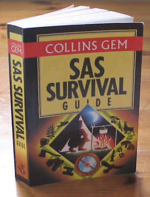 SAS Survival Guide pocket size hand book - Wild camping expeditions.