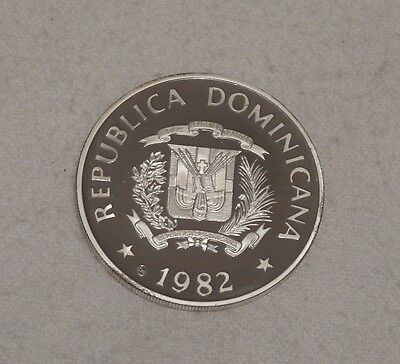 Dominican Republic International Year of the Child Silver Proof Coin