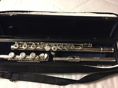 Amadeus By WM. S. Haynes Co. Sterling Silver Flute Af700 ~ Great Condition!