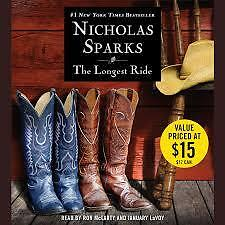 Nicholas Sparks - The Longest Ride - Audiobook - 6 CDs 7 hrs - New!