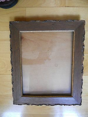 Antique Wooden/ Wood and Glass Frame