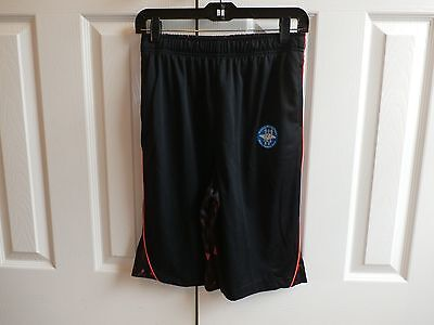 NWT ZONE PRO Black/Red Athletic Shorts Size XL 16-18