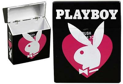 PLAYBOY Bunny Automatic Press Open Cigarette Case Licensed Merchandise NEW