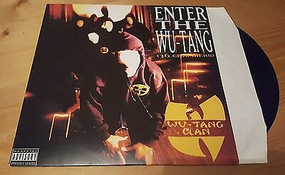 Wu Tang Clan - Enter the Wu Tang 36 Chambers LP Vinyl Album Reissue