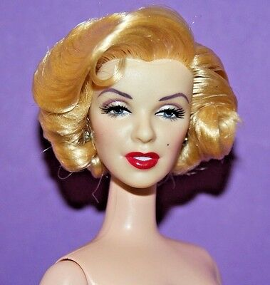 VERY REALISTIC Nude Marilyn Monroe Blonde BARBIE How to Marry a Millionaire