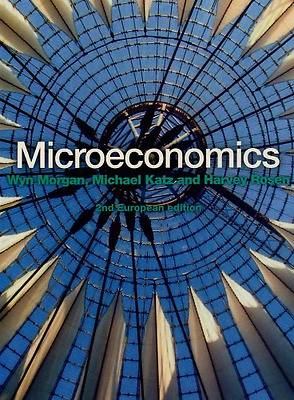Microeconomics, Good Condition Book, Wyn Morgan, Michael L Katz, Harvey S Rosen,