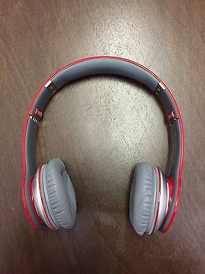 Beats by Dr. Dre Solo HD Over the Head Cable Headphones - Red