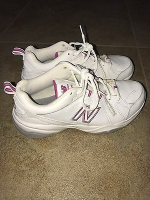 New Balance 608v4 Women's White And Pink Size 9.5 9 1/2