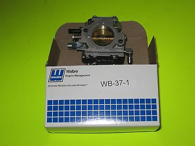 Genuine Walbro carburetor WB-37, go karts, Paramotor 150cc-200cc airplane models