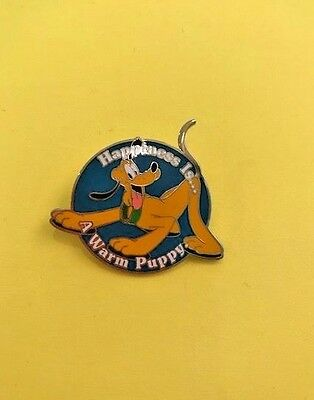 Disney Pin -DLR - Happiness is a Warm Puppy - Pluto - Susan Foy - PLUTO