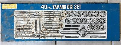 Tungsten Steel Metric Tap and Die 40 pc Set Threading Tool, Made in Japan