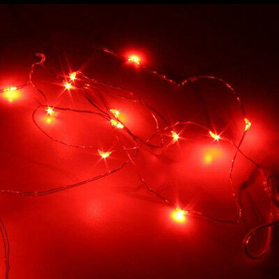 5M String Fairy Light 50 LED Battery Operated Xmas Lights Party Wedding Lamp