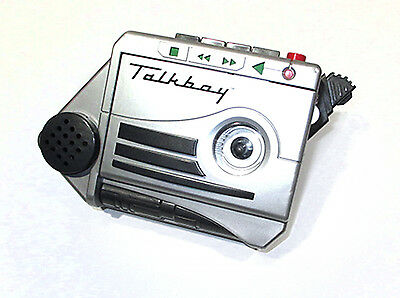 Talkboy Tiger Electronics Handheld Cassette Tape Recorder Player 1992 Home Alone