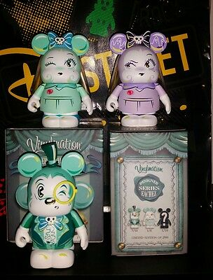 Miss Mindy designer series eachez vinylmation le set of 3 common Chaser variant