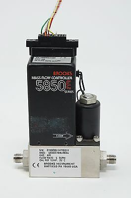 Brooks 5850E Mass Flow Controller AIR 5 SLPM  - Used 30 day warranty