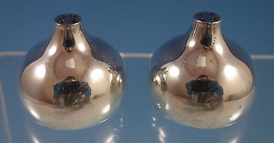 Georg Jensen Sterling Silver Pepper Shakers 2pc Set #1004A (#1612)