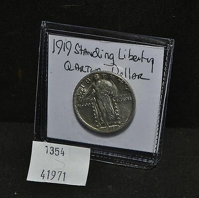 West Point Coins ~ 1919 Standing Liberty U.S. Quarter $0.25