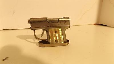 Vintage Pistol Gun Cigarette Lighter With Working Trigger Wow!!!