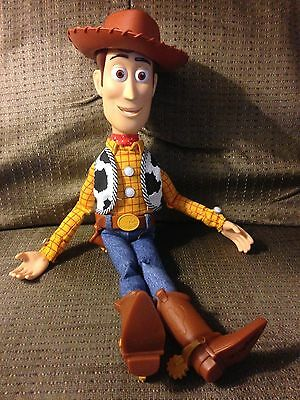 Disney Toy Story Talking Playtime Sheriff Woody Pixar Collectible Doll No Badge