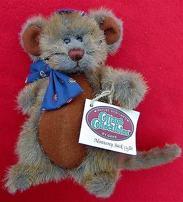 """cottage Collectibles "" ~ 7 1/4 Inch Adorable ""monterey Jack"" Mouse~ Cost $13.50"