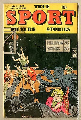 True Sport Picture Stories Vol. 4 (1947) #12 GD/VG 3.0