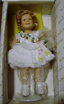 "Danbury Mint "" Baby Take A Bow"" Shirley Temple Movie Classics 10"" Doll w/COA"