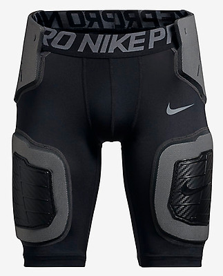 NIKE(845718 010)Boys Pro Hyperstrong Series Compression Football Shorts - Sz S