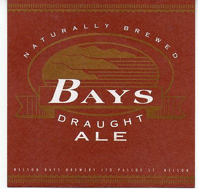 Bays Draught Ale New Zealand Beer Coaster