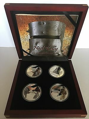 Ned Kelly 2010 1oz Silver Proof Coin Set