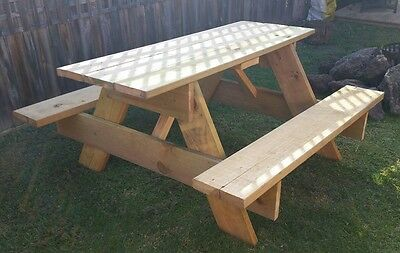 picnic table 6 seater