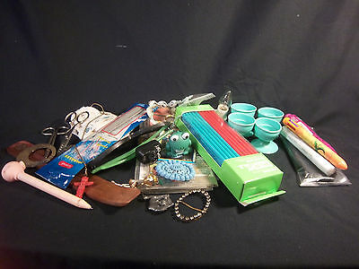 Junk Drawer Lot Practical Crafts and Whimsical 680g 1lb 8oz