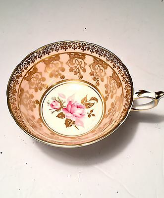Paragon Teacup Pink And Gold Orphan Tea Cup Vintage Bone China