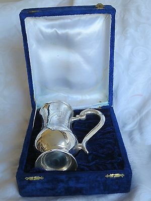 Silver La Trophy Beer Mug In Box