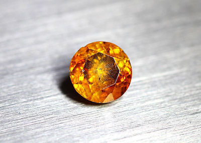 1.26 Cts _Wow !! Unbelivable Hot Sale_100 % Natural Sphalerite_Sunset Orange !!