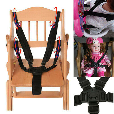 Universal Baby 5 Point Harness Safe Belt Seat Belts for Stroller High Chair UK