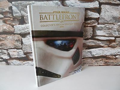 Star Wars Battlefront Collector's Edition Strategy Guide Manual Book.