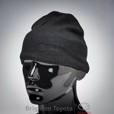 New Official Toyota Merchandise Toyota Black Beanie  Part TMTOY010BB