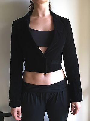 7 x Bulk Dance Costumes Black Velvet Jackets