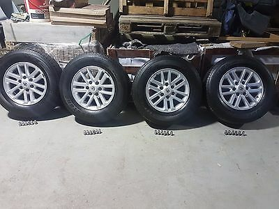 """4 Toyota Hilux SR5 17"""" Wheels and Tyres"""