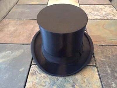 Vintage Collapsible Tophat Top hat Magic Steam Folding Magicians Antique Masonic