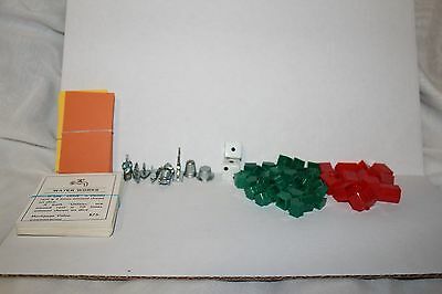 Monopoly Game Replacement Pieces/Hotels/Houses/Property Cards/Playing Cards