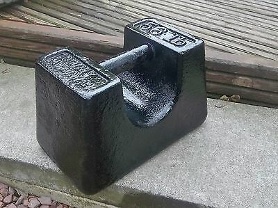 VINTAGE 56 lb 25KG CAST IRON AVERY WEIGHT IDEAL FOR GATE / DOOR STOP BOAT WEIGHT