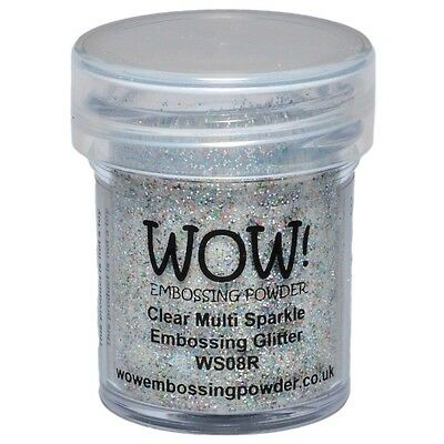 WOW!Embossing Powder 15ml - Clear Multi Sparkle
