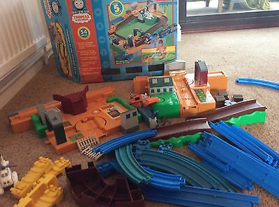 tomy thomas & friends timber yard set