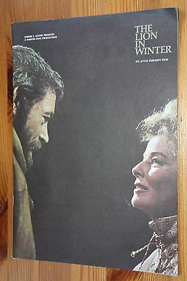 """Souvenir brochure from """"The Lion in Winter""""  (1968)"""
